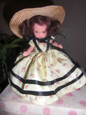 Nancy Ann Storybook Doll ~ #57 Southern Belle w/Jtd.Legs, Molded Socks, Pt &
