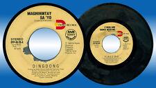 Philippines DINGDONG AVANZADO Maghihintay Sa'yo OPM 45 rpm Record