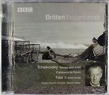 Tchaikovsky - Romeo & Juliet, Francesca di Rimini, de Falla, Britten, New CD