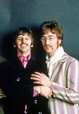 "The Beatles Ringo Starr John Lennon Photo Print 11x14"""