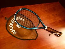 Vintage Wilson Conquer Raquet Ball Raquet with Amf/Voit Cover