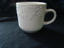 Gibson Cup Mug White Grapes Roses Leaves Replacement