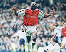 """~ Patrick Vieira Authentic Hand-Signed """"Arsenal Fc"""" 8x10 Photo ~"""