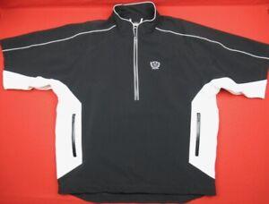Footjoy Dryjoy's Tour Collection Mens XL 1/2 Zip Pullover Golf Rain Wind Jacket