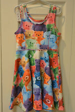 The Children's Place Photo Real Teddy Bear Skater Dress Size S Small 5 6 - TCP