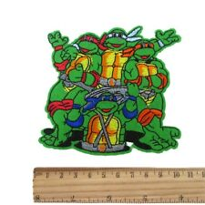 1 TEENAGE MUTANT NINJA TURTLES IRON ON SEW ON PATCH CLOTHES CRAFT ONLY £1.49