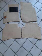 Exclusive Tappetini PORSCHE CAYENNE 955 1 originale qualità velluto METAL LOGO
