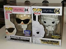 Funko Pop! Marilyn Monroe Black/White and Exclusive *Mint*  IN HAND w/Protectors