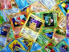 Huge Lot of 500-600 Original Japanese Pokemon Cards GO Favorites Japan Base-Neo