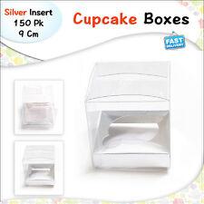 Cupcake Boxes White 1 Hole 50Pk Party Cake Boxes Wedding Bomboniere Gift Boxes
