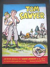 Samedi Jeunesse 43 Mai 1961 Tom Sawyer Tillieux