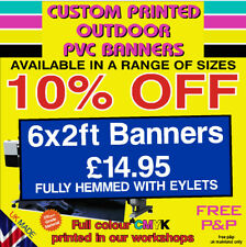 More details for pvc banners outdoor heavy duty custom printed advertising pvc banner sign