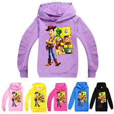 2020 Toy Story 4 Kids Boys/Girls Hoodies Sweatshirts Casual Outfit Clothes Tops