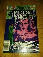 1981 MOON KNIGHT #14 NEWSTAND 1st STAINED GLASS SCARLET Very Good  SIENKIEWICZ
