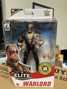 Mattel WWE Elite Collector Edition Warlord Exclusive
