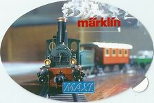 Autocollant sticker Märklin 1990 HO train réseau ferré rare