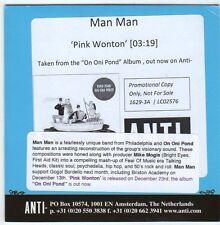 (EM892) Man Man, Pink Wonton - 2013 DJ CD