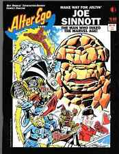 Alter Ego JUMPING JOE SINNOTT/DOUBLE SIDED COVERS NM+  # 2 of 6 BLAST TO da past