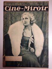 CINE MIROIR N°382 29 JUILL 1932 COUV SIMONE HELIARD