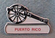 Cannon Puerto Rico Rubber Magnet, Souvenir, Travel, Refrigerator