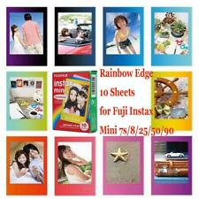 Fujifilm Instax Rainbow Film Instant 10 Sheets for Fuji Instax Mini 7s/8/25/90/9