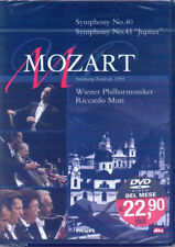 "Mozart. Symphonies 40 & 41 ""Jupiter"" (1993) DVD NUOVO Riccardo Muti & Wiener Phi"
