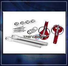 HOOD PIN LOCK RED FOR 240SX ALTIMA MAXIMA SENTRA IMPREZA CELICA COROLLA MATRIX