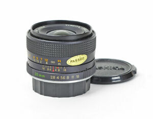 Yashica ML Lens 2.8/35mm f/2.8 35mm Wide Angle for Contax/Yashica No.A1313663 ••