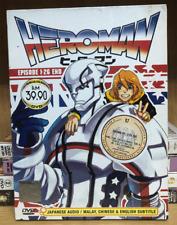 HEROMAN Vol.1-26 End ANIME DVD English Subtitle Region All