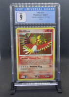 Pokemon Secret Wonders Ho-oh (10/132) CGC 9 MINT (PSA BGS) - Holo Bleed!