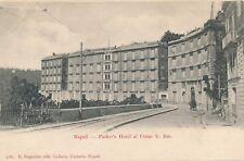 NAPOLI – Parker's Hotel al Corso V. Em. – Naples – Italy – udb (pre 1908)