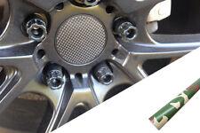 4x llantas aluminio EJES Tapa Diseño lámina Camuflaje Forest Muchas vehículos