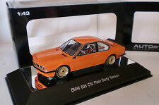 AUTOART 1/43 BMW 635 CSi PLAIN BODY VERSION ORANGE
