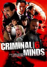 CRIMINAL MINDS - SEASON 6 - DVD - REGION 2 UK