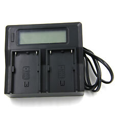 LCD Battery Charger AC/DC For Sony NP-FV50 NP-FV40 NP-FV70 NP-FV100 FH50 FP70