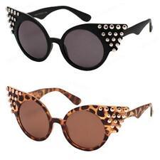 Women's Cat Eye 100% UV400 Metal & Plastic Sunglasses