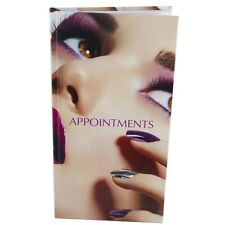 Appointment Diary Hair Nail Beauty Book 3 - 6 Column NAIL on FACE Modern Image