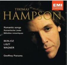 Berlioz, Liszt, Wagner: Romantic Songs / Thomas Hampson, Geoffrey Parsons - CD