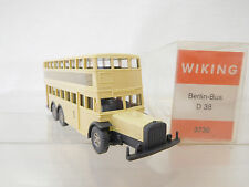 eso-1506Wiking 1:87 Berliner Doppeldecker Bus mit minimale Gebrauchsspuren