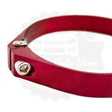 "P2M UNIVERSAL ALUMINUM PIPE HOSE CLAMP INTAKE RED 2"" 2.0"" - 58mm 59mm 60mm"