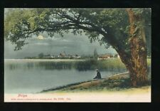 Switzerland MORGES moonlight General view used c1909 PPC