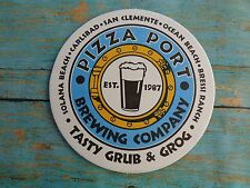 Beer Collectible COASTER ~*~ PIZZA PORT Brewing Company, California ~ Since 1987