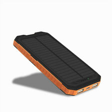 Universal 2 USB 9 LED 50000mAh Solar Panel Power Bank Battery Charger For iPhone