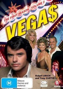 Vegas : Series 1 : Part 2 (DVD, 2010, 3-Disc Set) Region 4