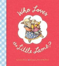Who Loves the Little Lamb?-ExLibrary