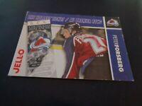 1995-96 Kraft / Jell-O Hockey - Peter Forsberg - Colorado Avalanche - EX