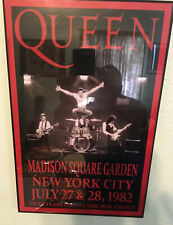 Queen Replica 1982 Concert Poster No frame