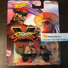 '88 Mercedes Unimog U1300 * Street Fighter CAPCOM * 2018 Hot Wheels Pop Culture