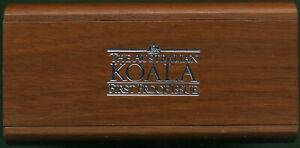 AUSTRALIA 1988P $50.00 ½ Oz. PLATINUM KOALA PROOF IN ORIGINAL BOX (SALES 12,000)