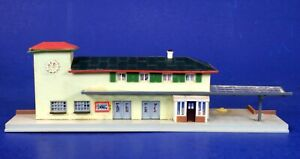 Faller HO Scale Built-Up City Train Station
